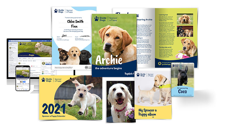 Sponsor a Puppy Gifts In Memory | Guide Dogs