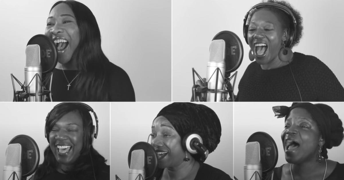 A festive feast of Christmas Carols and music from Black Voices