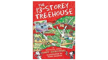 Book cover of '13 Storey Treehouse'