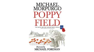 Book cover of 'Poppy Field'