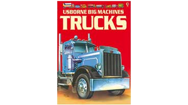 Book cover of 'Usborne Big Machines Trucks'